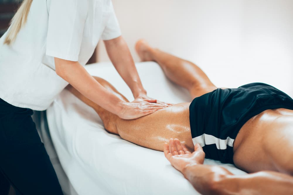 La science semble approuver les massages post training !